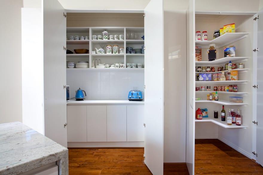 pantry options for your new kitchen design direct kitchens. Black Bedroom Furniture Sets. Home Design Ideas