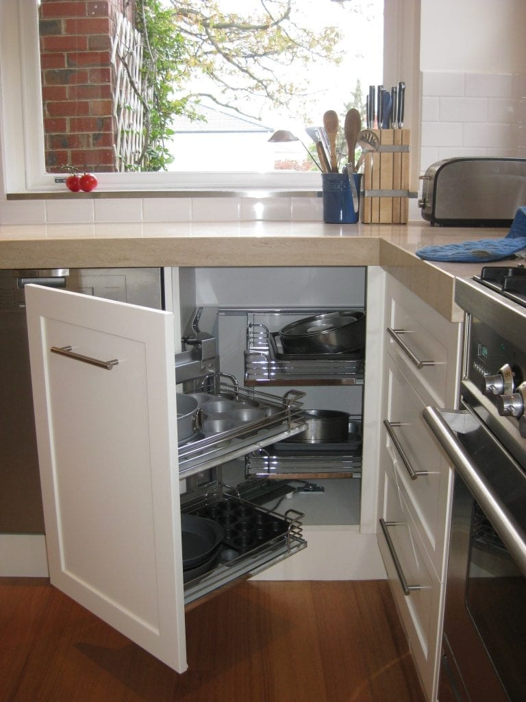 Kitchen space saving ideas direct kitchens for Space saving kitchen designs
