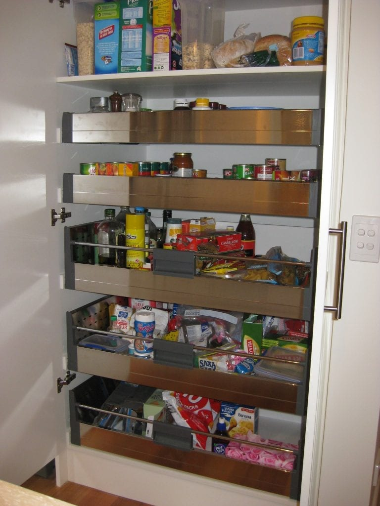 kitchen space saving ideas direct kitchens diy pull out pantry shelves space saving kitchen