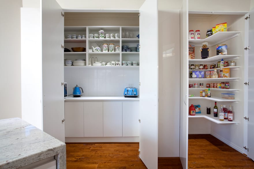 Pantry options for your new kitchen design direct kitchens for Modern kitchen pantry